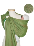 Storchenwiege Leo Green Ring Sling