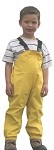 Suse's Kinder Fleece Lined Rain Pants or Overalls for Kids