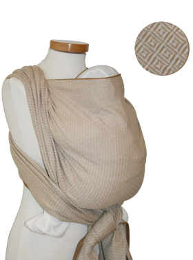 Storchenwiege Leo Natural Baby Wrap