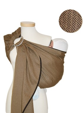 Storchenwiege Leo Cafe Ring Sling